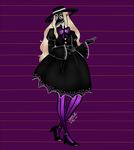 MH: Evelyn's Halloween Contest entry by Chloe-The-Great