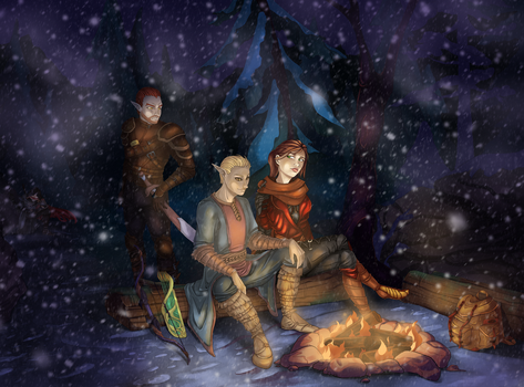 Campfire. by Wraitany