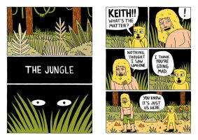 The Jungle Comic Pages 1+2 by Teagle