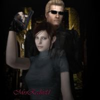 Claire's Protector - A by IamAlbertWesker