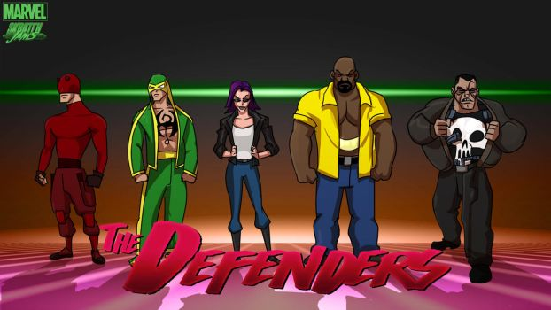 Animated Defenders by fan4battle