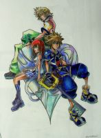 Kingdom Hearts by iamhollyw00d