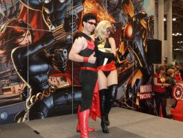 Wonder Man and Ms Marvel by nx20