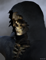 Untitled Reaper W.I.P. by Ajpunisher