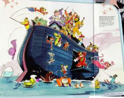 Hanna Barbera: Yogi's Ark by slappy427