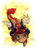 Luca chibi by kinly