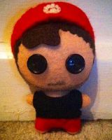 Youtubers - ChilledChaos Plushie by Jack-O-AllTrades