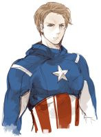 Captain America by nairchan