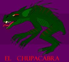 El Chupacabra by DinoHunter2