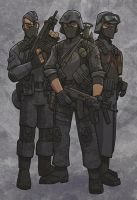 infantrymen of Cobra by jimmymcwicked