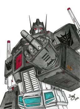 Nemesis Prime by TheD33J
