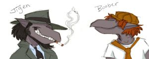 Jigen and Boober by Toodles3702