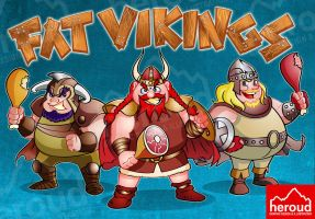 FAT VIKINGS by heroud