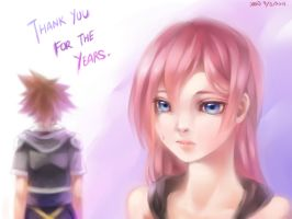 KH- Thank you for the years by christon-clivef