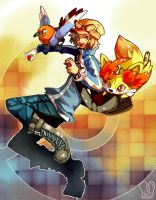 Pokemon X,Y : New Trainer by Sa-Dui