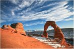 Delicate Arch by tourofnature