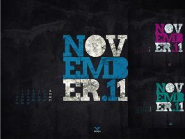 November 2011 - Wallpaper by Waterboy1992