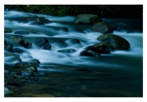 The 'rapid' waters flow. by The-name1ess