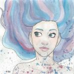 watercolour girl by arcus-puera