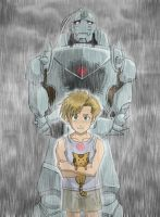 FMA: Alphonse Tribute by Risachantag