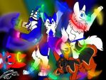 Furry Rave by Dwolf548