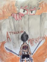 Attack on Markiplier~ by huey4ever