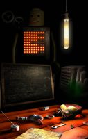 Mad Scientist Lab by BustedFluxcapacitor