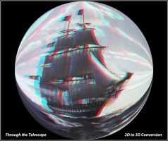 I SEE NO SHIPS... 3D anaglyph by zippy6234
