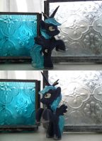 MLP: FiM Princess Luna blind bag repaint/mod by elfy016