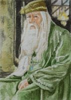 Dumbledore 2 by waughtercolors