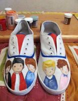 One Direction shose by ciencianalove