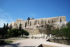 Greece, Athens, Acropolis by elodie50a
