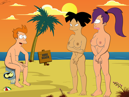 Futurama - Planet XXX V2 (Uncensored) by Spider-Matt