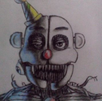So... I tried to draw Ennard and this came out... by xXElementalTiger20Xx