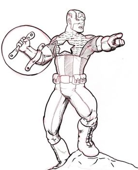Capitan America by McNolo