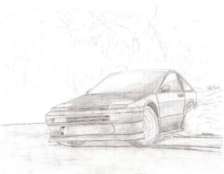 Toyota Trueno by jeffdesign
