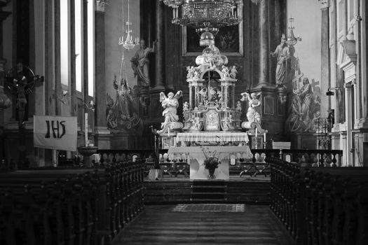 Interior of a church by luka567