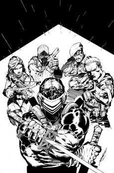 GI JOE#18 cover by scabrouspencil