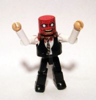 Faceless Zombie (Dead Alive) Custom Minimate by luke314pi