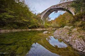 The roman bridge. by MarioGuti
