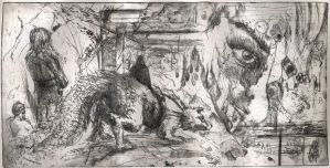 First Etching by Nicoll