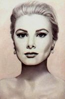 Grace Kelly by PamelaKaye
