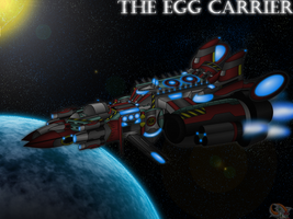 In Vast Space - Egg Carrier by Hazard-the-Porgoyle