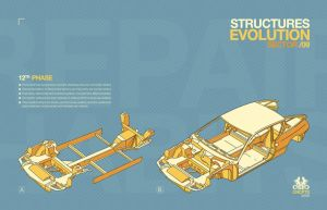 STRUCTURES EVOLUTION by RGBvsCMYK