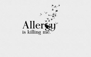 Allergy is killing me by michalkosecki