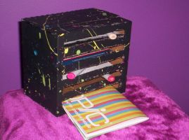 copic marker holder by Ferret-Luver-Girl