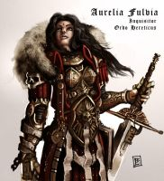 Inquisitor Aurelia Fulvia by Vanagandr