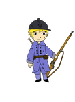 Toon Link (WW1 French Soldier) by GeminiWal