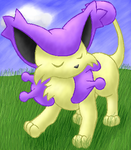 Delcatty by LilWhiteMage