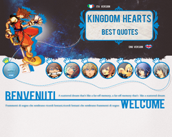 KH Quotes site by Momokoi